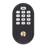 Monaco Push Button Deadbolt Oil Rubbed Bronze