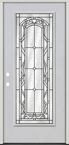 Full Lite Fiberglass Prehung Door Unit #292
