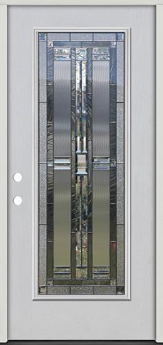 Full Lite Fiberglass Prehung Door Unit #297