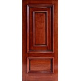 Hamilton Panel in Panel Mahogany Wood Door Slab #7271