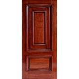 Hamilton Panel in Panel Mahogany Wood Door Slab #7271