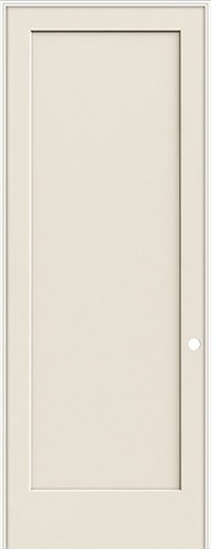 "8'0"" 1-Panel Flat Smooth Molded Interior Prehung Door Unit"
