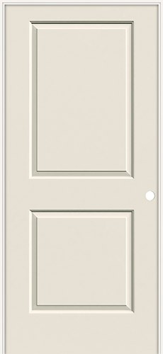 "6'8"" 2-Panel Molded Smooth Interior Prehung Door Unit"