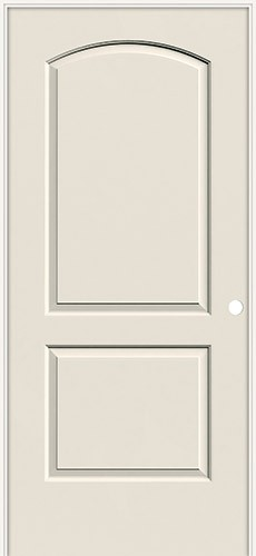 6 8 2 Panel Arch Smooth Molded Interior Prehung Door Unit