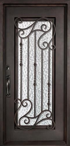 "37"" x 81"" Affinity Prehung Iron Door Unit"