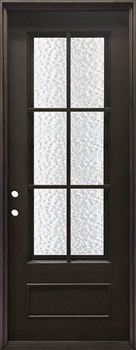 "38"" x 97"" Tiffany Iron Prehung Door Unit"