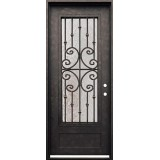 "38"" x 98"" Forte Iron Prehung Door Unit"