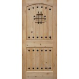 Rustic Knotty Alder Wood Door Slab #UK20