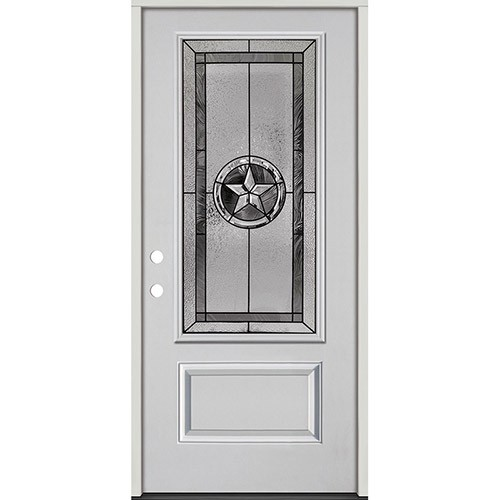 Texas Star 3/4 Lite Fiberglass Prehung Door Unit #70