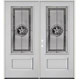 Texas Star 3/4 Lite Fiberglass Prehung Double Door Unit #70