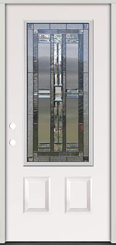 3/4 Lite Steel Prehung Door Unit #277