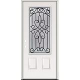 3/4 Lite Steel Prehung Door Unit #279