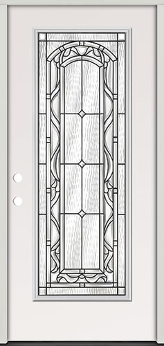 Full Lite Steel Prehung Door Unit #292