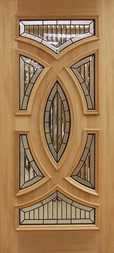 Baseball Mahogany Wood Door Slab #A8025-22