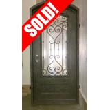#Z003 Iron Door Arch Top Unit