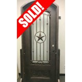 #Z005 Texas Star Iron Door Unit