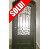 #Z007 Iron Door Arch Top Unit