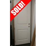 #Z018 Fiberglass 2-Panel Raised Molded Door Unit