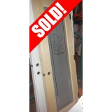 #Z024 Pantry Pine Interior Prehung Wood Door Unit