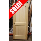 "#Z049 32"" 2-Panel Arch Clear Pine (LH)"