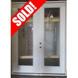 "#Z111802 6'0"" x 8'0"" Full Lite Fiberglass Double Door"