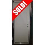 """#Z111806 2'8"""" 6-Panel Steel Prehung Door"""
