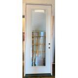 """#Z12002 36"""" x 8'0"""" Fiberglass Door with Miniblinds"""