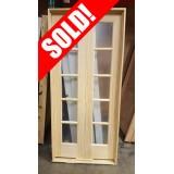 """#Z31813 36"""" 5-Lite Double Pine Interior Door"""