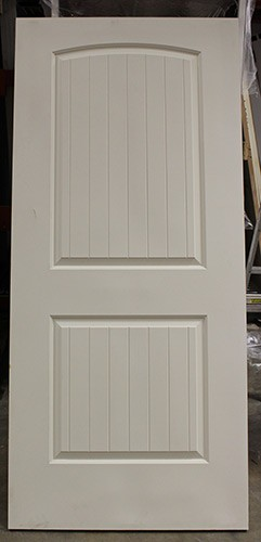 """#Z41802 24"""", 30"""" and 36"""" 2-Panel Arch V-Groove interior slabs (B-Grade)"""