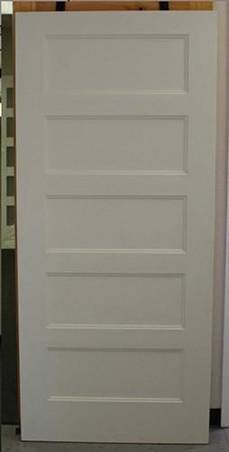 "#Z41815 36"" 5-Panel Shaker interior slab"