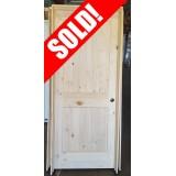 """#Z71805 32"""" 2-Panel Pine Interior Door"""