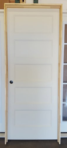 Z71806 32 5 Panel Molded Interior Door Solid Core