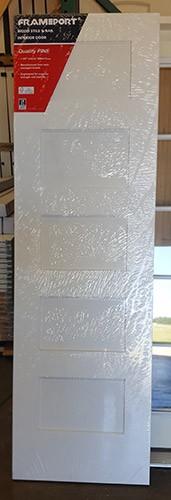 """#Z71807 24"""" 5-Panel Primed Pine Interior Slab"""