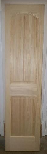 "#Z91801 20"" Clear Pine Interior Door Slab"