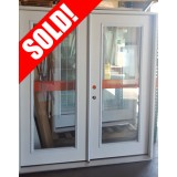 #Z91805 6-0 Full Lite Fiberglass French Doors