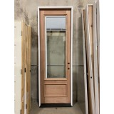 "#Z092002 8' Tall Miniblind Mahogany Door (32"" wide)"