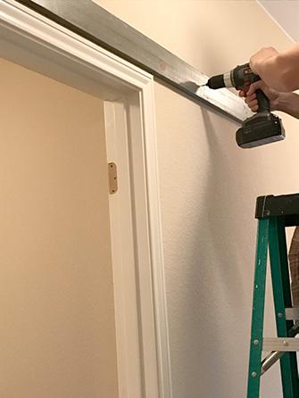 D I Y Barn Door Install