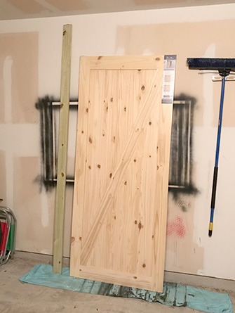 barn door sliding track diy installation