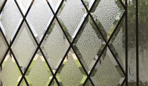 diamond door glass